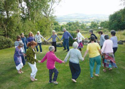 Dancing in the Garden